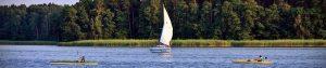 Lubiatów nad jeziorem Sławskim - wypożyczalnia łódek, żaglówek, omegi, kajaki, Sup