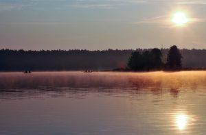 jezioro Sławskie - wakacje nad wodą