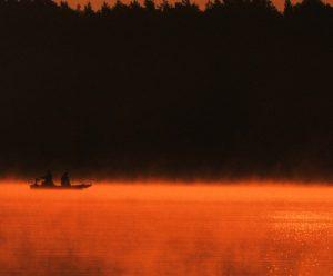 jezioro Sławskie Lubiatów wypoczynek nad wodą wędkowanie