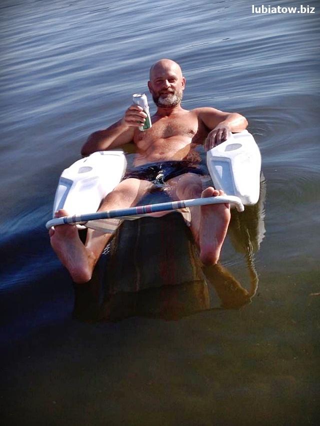Lubiatów Sława jezioro Sławskie atrakcje wypoczynek leżak wodny
