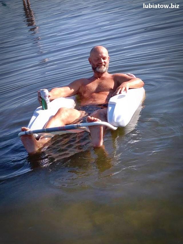 Lubiatów Sława jezioro Sławskie atrakcje wypoczynek leżaki wodne