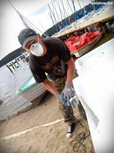 szkutnik, szkutnictwo, naprawa łódek i rowerków wodnych Lubiatów
