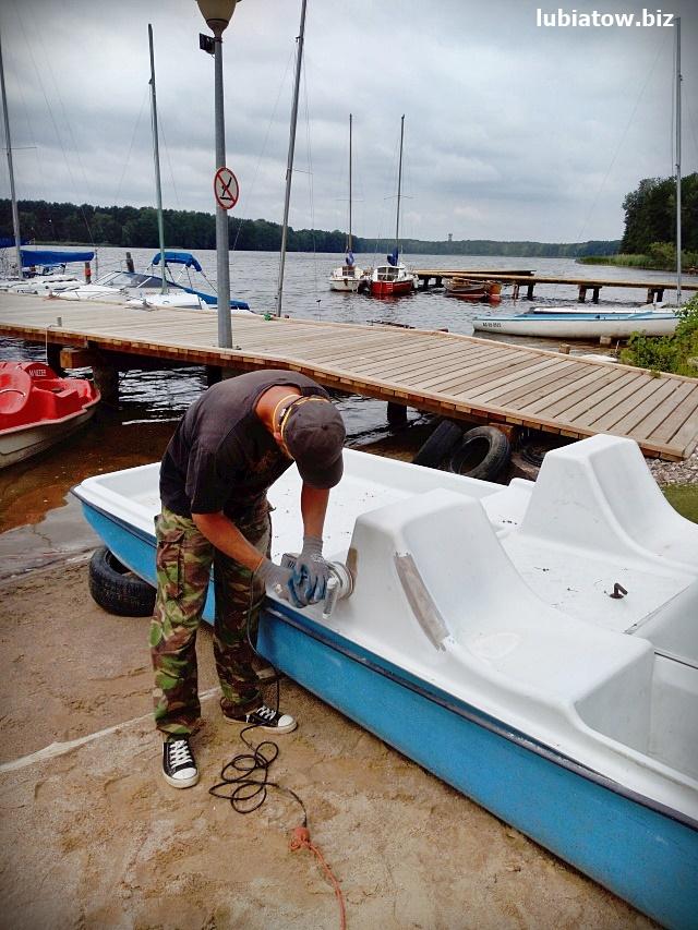 szkutnictwo - naprawa łódek, rowerków, kajaków, żaglówek, łodzi