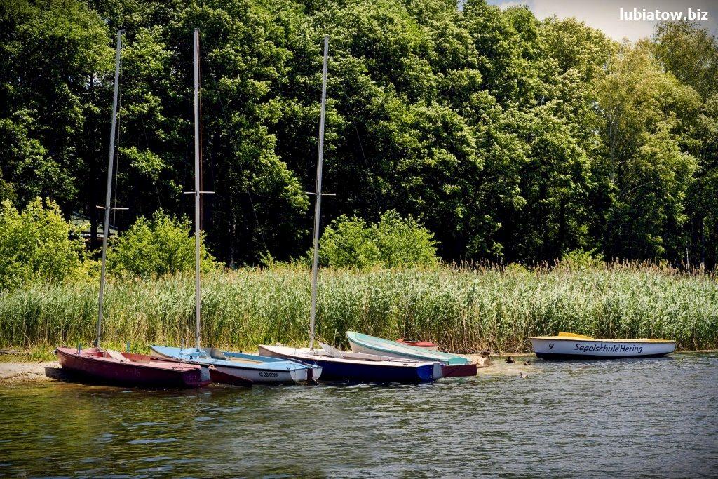 wypożyczalnia łódek i żaglówek Lubiatów koło Sławy