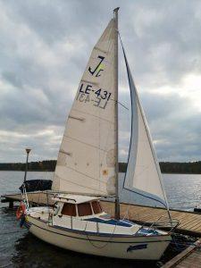 łódka Haber dostępna wo wypożyczenia w Lubiatowie